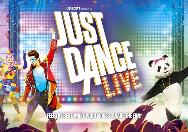 Just Dance Live website