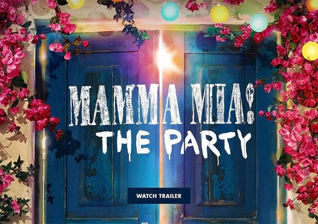 Mamma Mia The Party website